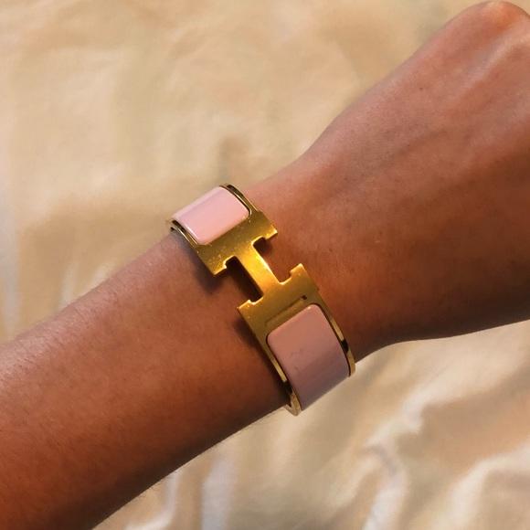 Hermes Jewelry   Herms Clic Clac H Bracelet   Poshmark 01191980d75
